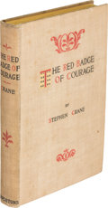 Books:Literature Pre-1900, Stephen Crane. The Red Badge of Courage. New York: D.Appleton, 1895. ...