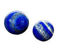 Lapidary Art:Eggs and Spheres, Lapis Spheres (Set of 2). Afghanistan. 2.62 inches indiameter (6.65 cm). ... (Total: 2 Items)