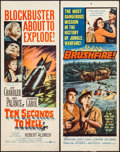 "Movie Posters:War, Ten Seconds to Hell & Others Lot (United Artists, 1959).Inserts (5) (14"" X 36""). War.. ... (Total: 5 Items)"