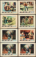 "Movie Posters:Western, Rio Bravo (Warner Brothers, 1959). Lobby Cards (8) (11"" X 14""). Western.. ... (Total: 8 Items)"