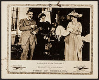 """Fires of Rebellion (Universal Film Manufacturing, 1917). Lobby Card (8"""" X 10""""). Drama"""