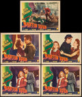 "Movie Posters:Adventure, The Adventures of Martin Eden & Others Lot (Columbia, 1942).Lobby Cards (5), Lobby Card Set of 8 (11"" X 14""), One Sheet (27...(Total: 15 Items)"