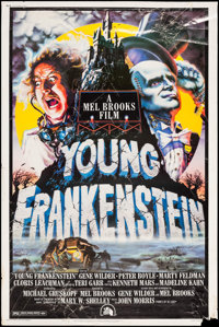 """Young Frankenstein (20th Century Fox, 1974). Poster (40"""" X 60""""). Comedy"""