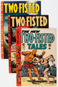 Golden Age (1938-1955):War, Two-Fisted Tales #32, 35, and 39 Group (EC, 1953-54).... (Total: 3Comic Books)