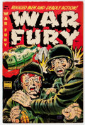 Golden Age (1938-1955):War, War Fury #3 (Comic Media, 1953) Condition: FN+....