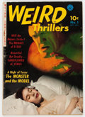 Golden Age (1938-1955):Horror, Weird Thrillers #1 (Ziff-Davis, 1951) Condition: GD/VG....