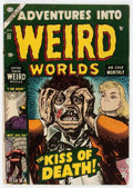 Golden Age (1938-1955):Horror, Adventures Into Weird Worlds #23 (Atlas, 1953) Condition: GD/VG....