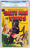 Golden Age (1938-1955):Science Fiction, An Earth Man on Venus #nn (Avon, 1951) CGC FN+ 6.5 Off-white towhite pages....