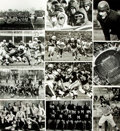 Books:Photography, [Football]. Archive of Approximately 45 Photographs Relating to the History of Football. Various sizes, most measuring appro...