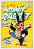 Golden Age (1938-1955):Funny Animal, Atomic Rabbit #1 (Charlton, 1955) Condition: FN/VF....