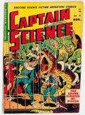 Golden Age (1938-1955):Science Fiction, Captain Science #5 (Youthful Magazines, 1951) Condition: VG-....
