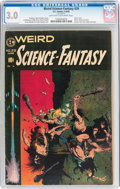 Golden Age (1938-1955):Science Fiction, Weird Science-Fantasy #29 (EC, 1955) CGC GD/VG 3.0 Light tan tooff-white pages....