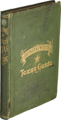 Books:Americana & American History, James L. Rock and W. I. Smith. Southern and Western Texas Guidefor 1878. St. Louis: A. H. Granger Publisher, 18...