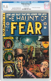 Haunt of Fear #12 (EC, 1952) CGC NM+ 9.6 Off-white pages