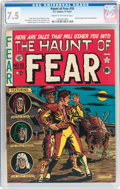 Golden Age (1938-1955):Horror, Haunt of Fear #10 (EC, 1951) CGC VF- 7.5 Cream to off-whitepages....