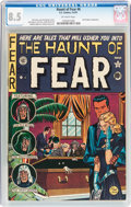 Golden Age (1938-1955):Horror, Haunt of Fear #6 (EC, 1951) CGC VF+ 8.5 Off-white pages....