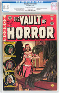Golden Age (1938-1955):Horror, Vault of Horror #23 (EC, 1952) CGC VF+ 8.5 Cream to off-whitepages....