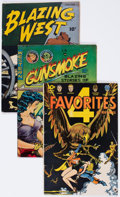 Golden Age (1938-1955):Miscellaneous, Comic Books - Assorted Golden and Silver Age Comics Group of 8 (Various Publishers, 1950s-60s).... (Total: 8 Comic Books)