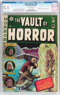 Golden Age (1938-1955):Horror, Vault of Horror #22 (EC, 1951) CGC VF+ 8.5 Off-white pages....