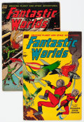 Golden Age (1938-1955):Science Fiction, Fantastic Worlds #5 and 7 Group (Standard, 1952-53).... (Total: 2Comic Books)