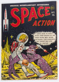 Golden Age (1938-1955):Science Fiction, Space Action #3 (Ace, 1952) Condition: VG-....