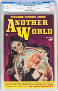 Golden Age (1938-1955):Horror, Strange Stories from Another World #3 Crowley Copy Pedigree(Fawcett Publications, 1952) CGC VF- 7.5 Off-white pages....