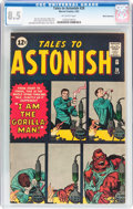 Silver Age (1956-1969):Science Fiction, Tales to Astonish #28 White Mountain Pedigree (Marvel, 1962) CGCVF+ 8.5 Off-white pages....