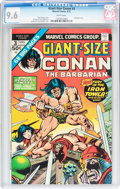 Bronze Age (1970-1979):Miscellaneous, Giant-Size Conan #3 (Marvel, 1975) CGC NM+ 9.6 White pages....