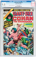 Modern Age (1980-Present):Miscellaneous, Giant-Size Conan #5 (Marvel, 1975) CGC NM/MT 9.8 Off-white to white pages....