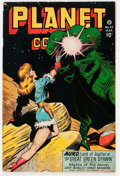 Golden Age (1938-1955):Science Fiction, Planet Comics #47 (Fiction House, 1947) Condition: VG/FN....