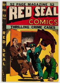 Red Seal Comics #21 (Chesler, 1947) Condition: VG/FN