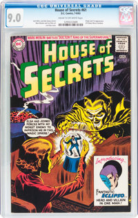 House of Secrets #61 (DC, 1963) CGC VF/NM 9.0 Cream to off-white pages