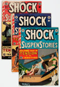 Golden Age (1938-1955):Horror, Shock SuspenStories #9, 11, and 16 Group (EC, 1953-54).... (Total:3 Comic Books)