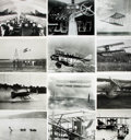 Books:Prints & Leaves, [Aviation]. Archive of Approximately 213 Photographs Relating toAviation....