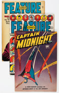 Golden Age (1938-1955):Miscellaneous, Golden Age Miscellaneous Comics Group of 8 (Various Publishers, 1940s-50s).... (Total: 8 Comic Books)