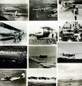 Books:Prints & Leaves, [Aviation]. Archive of Approximately 186 Photographs Relating toAviation....