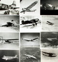 Books:Prints & Leaves, [Aviation]. Archive of Approximately 219 Photographs Relating toAviation....
