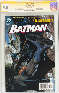 Batman #608 Signature Series (DC, 2002) CGC NM/MT 9.8 White pages