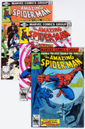 Modern Age (1980-Present):Superhero, The Amazing Spider-Man Group of 32 (Marvel, 1980-81) Condition:Average NM- 9.2 .... (Total: 32 Comic Books)