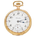 Timepieces:Pocket (post 1900), Hamilton 21 Jewel Series 992 Pocket Watch. ...