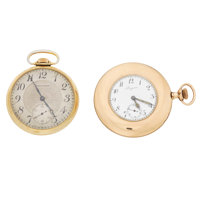 Longines & Waltham Gold Filled Pocket Watches Runners