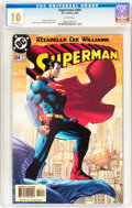 Modern Age (1980-Present):Superhero, Superman #204 (DC, 2004) CGC MT 10.0 White pages....