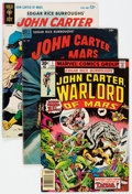 Silver Age (1956-1969):Science Fiction, John Carter of Mars Related Group (Gold Key, 1952-77).... (Total: 6 Comic Books)