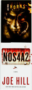 Books:Horror & Supernatural, Joe Hill. Pair of SIGNED Titles, One of Which is a LIMITED Edition. Includes: NOS4A2. William Morrow, 2013. First ed... (Total: 2 Items)