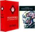 Books:Horror & Supernatural, Clive Barker. Pair of SIGNED/LIMITED Anniversary Editions. Titles include: Weaveworld. Warthling Publications, 2012 [togethe... (Total: 2 Items)