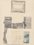 Post-War & Contemporary:Pop, Robert Rauschenberg (American, 1925-2008). Two Reasons Why Birds Sing, from Suite of Nine Prints, 1979. Offset litho...