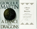 Books:Science Fiction & Fantasy, George R. R. Martin. SIGNED. A Dance with Dragons. New York: Bantam Books, [2011]....