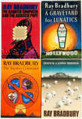 Books:Science Fiction & Fantasy, Ray Bradbury. Group of Four INSCRIBED Titles. New York: Knopf, [various dates].... (Total: 4 Items)
