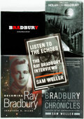 Books:Biography & Memoir, [Ray Bradbury, subject]. Group of Five Biographical Books, Three ofWhich are INSCRIBED. Various publishers, various... (Total:5 Items)