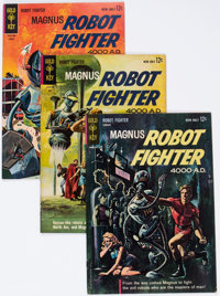 Magnus Robot Fighter Group of 21 (Gold Key, 1963-72) Condition: Average FN/VF.... (Total: 21 Comic Books)